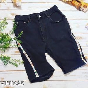Vintage Sequin Beaded Embroidered 80s Bike Shorts